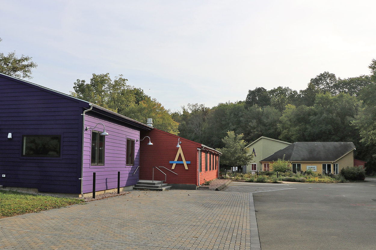 Guilford Art Center new building & renovation