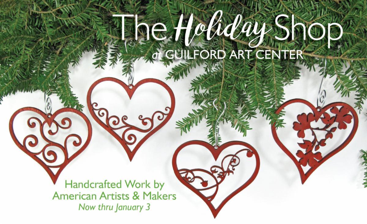 Guilford Art Center Holiday Shop